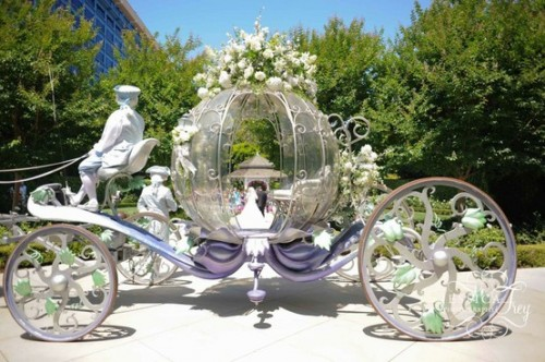 Fairy Tale Wedding Ideas: Pumpkin Carriage